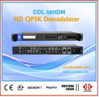 dstv decoder fulll hd ,rf to hd mi/sdi/av/asi converter, satellite receiver decryption COL5811DN