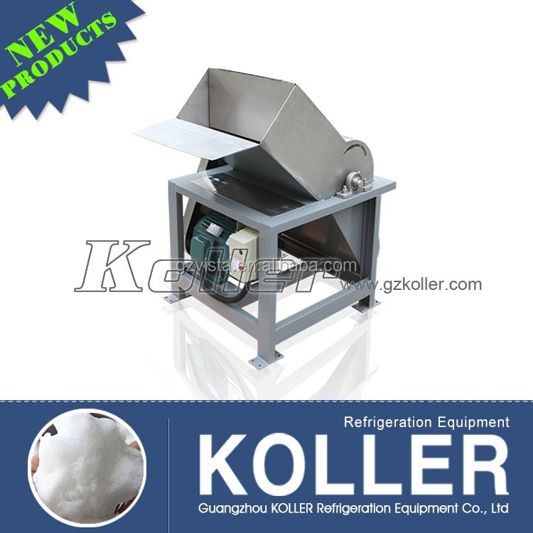 Koller block ice crusher making machines for sale in fishing farm