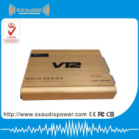 V12 4CH mosfet powerful car amplifier
