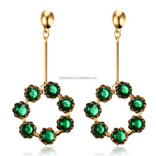 Fashion Earring Designs New Model Earrings Saudi Gold Jewelry For Women