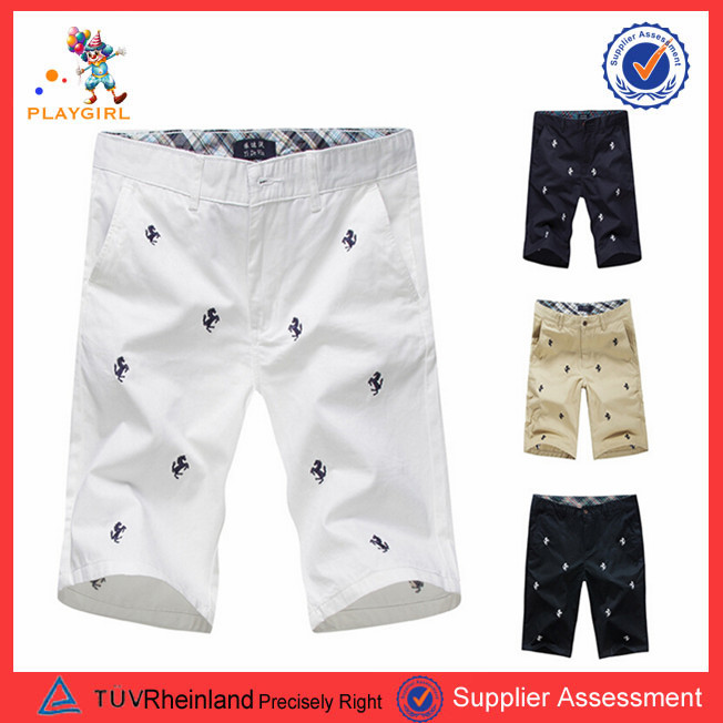 newest design colorful embroider fashion handsome young mans pants PGMC1343