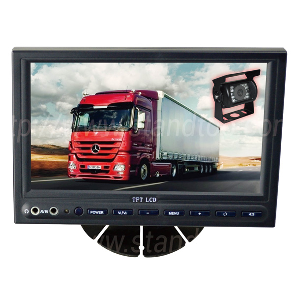cars trucks Wireless Rear View Camera system With hd media player