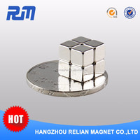 Magnets neodymium manufacturers China customized strong electro permanent rare earth ndfeb magic cube in puzzle