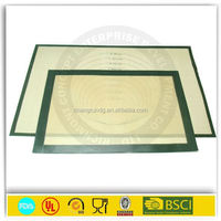 Kitchen silicon baking glass fiber heat-resistant mats