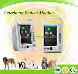 Medical heart rate 7 inch monitor vital signs monitor price ecg patient monitor
