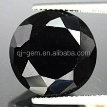 Wuzhou round brilliant cut 1.3mm nano crystal black diamond carat