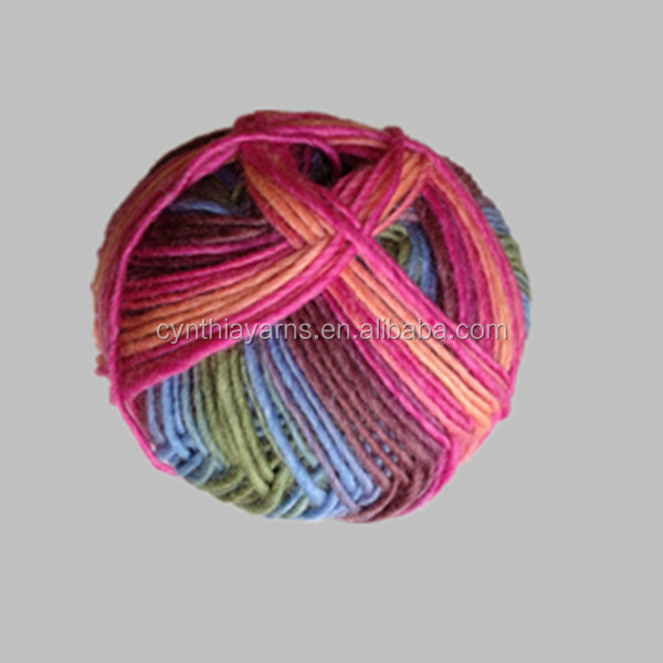 Healthy dyed lycra yarn of 100% merino wool with cheap price for sale