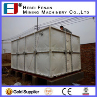 high quality grp sectional water tank /cheaper water tank factory from china