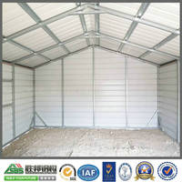 Prefabricated Steel Structure Garage House