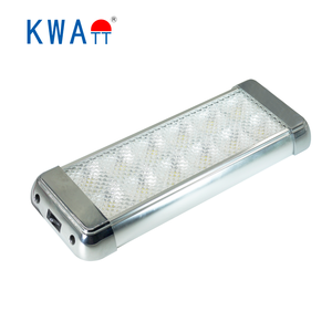 Factory Modern High Quality Newest 12-24V Rectangle Vehicle car 12pcs LED Interior Lights for CarS,Cabin,RV With CE RoHS