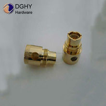 brass cnc electric cigarette machine parts