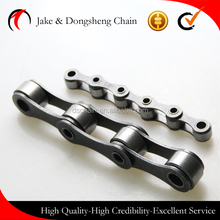China factory high quality transmission chain 2100, double pitch transmission chain with attachments