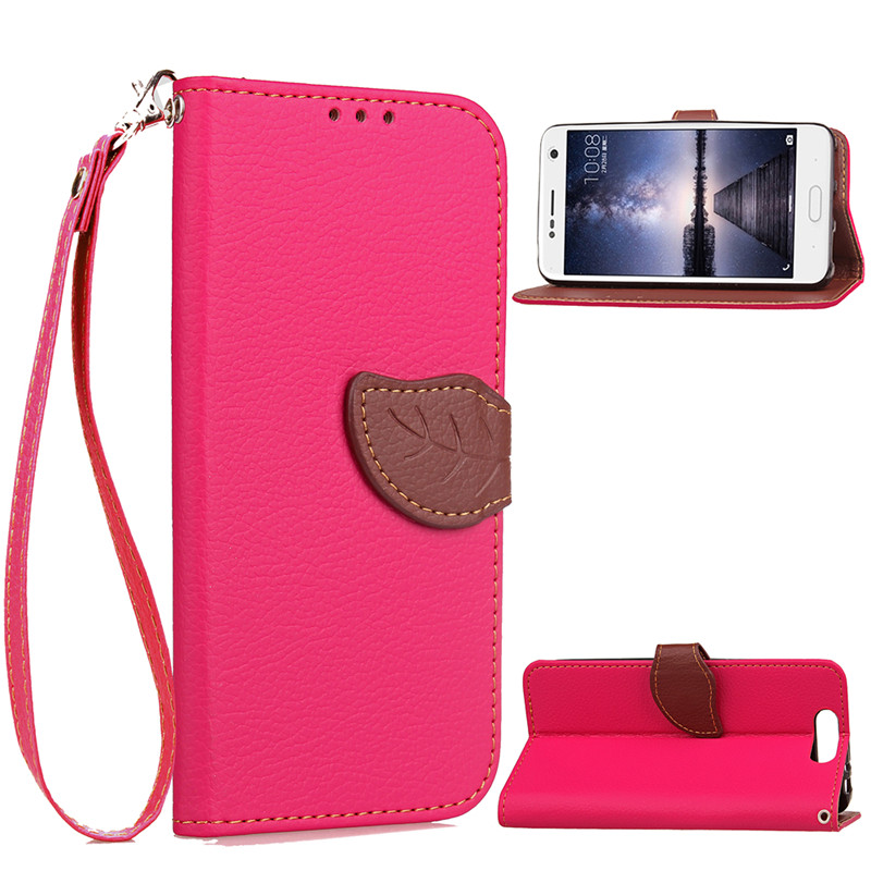 Hot Selling Wholesale Factory Price Mobile Phone Case for ZTE Blade V8 PU Leather Flip Cell Phone Case for ZTE Blade V8