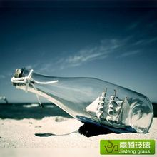 High quality clear glass wishing drift bottle