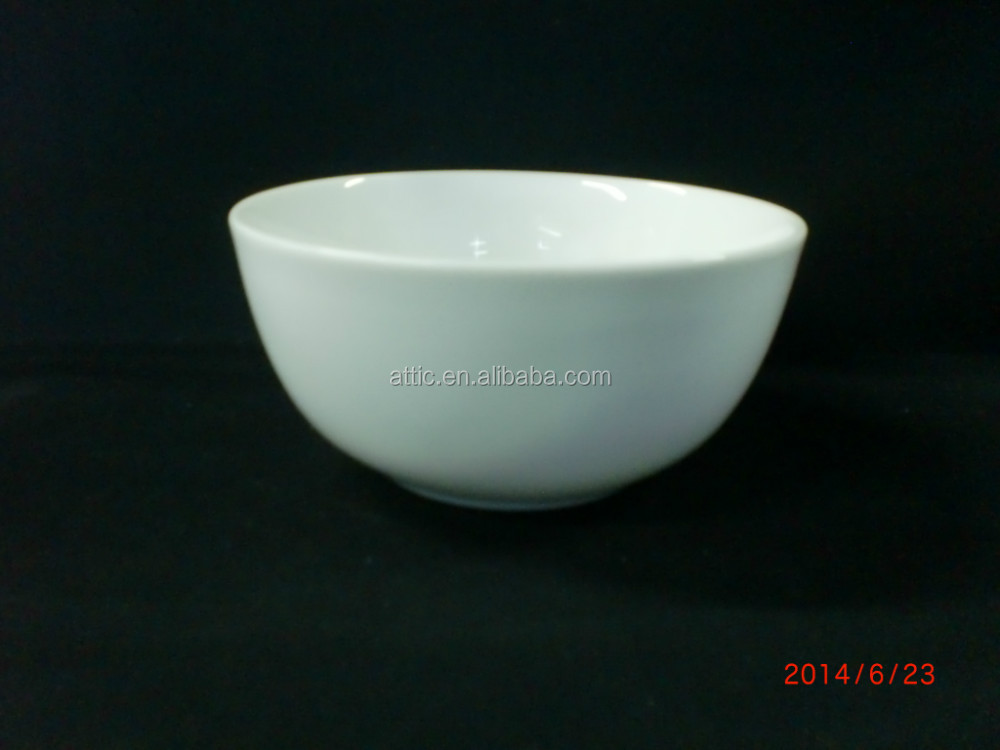 "5.5""Cheap White Porcelain, Ceramic Bowls, Food Serving Bowls in Ceramic Bowls"
