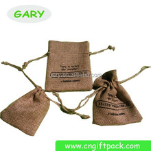 Manufacturer Customized cheap linen golf shoe bags with printing logo