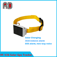 2015 best selling Solar powered cow gps tracker with app tracking and IP66 waterproof function