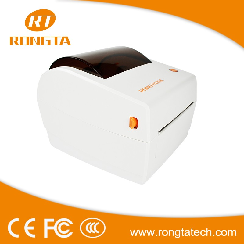 High quality 4 inch 203DPI thermal line printing BarCode Label Printer RP410 with software