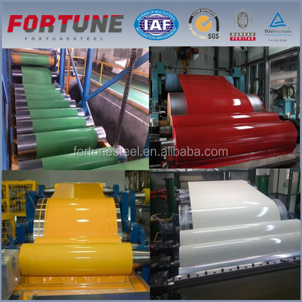 Bent Tiles Type and Color Pre painted Galvanlume Steel Sheet Roll for Roof Bulding Supply