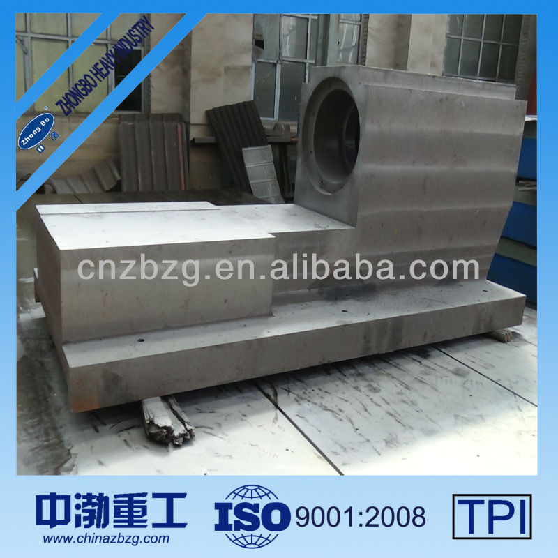 High Quality Spheroidal Graphite Cast Iron GGG40 Lathe Bed