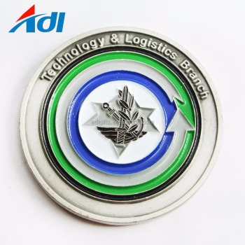 Dealers Custom Cheap Double Metal Coin