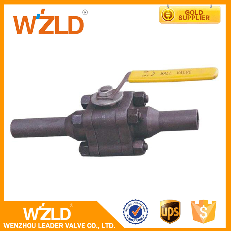 WZLD China Supplier Korea Style ASME B16.34 Sanitary Forged Floating Ball Valve