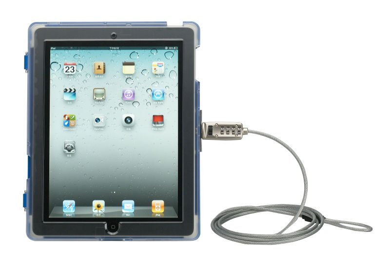 Multi Purpose Patent Security Lock for iPad 2 Case