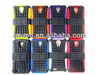 Shock Proof Rubber Combo Hybrid Heavy Duty Stand Silicon Case For Samsung Galaxy S4 i9500