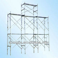 1250*2000 galvanized/power coating/painting different types of scaffold