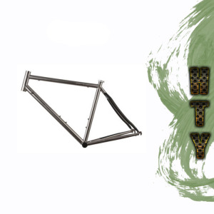 Gr9 Titanium Bicycle Frame Sale MTB 29ER frame