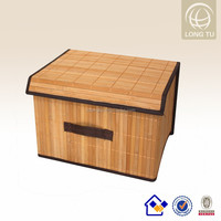 bamboo round decorative cardboard storage boxes