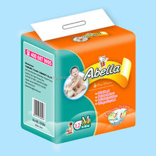 2017 HOT sell factory breathable cloth like sleep disposable baby diapers