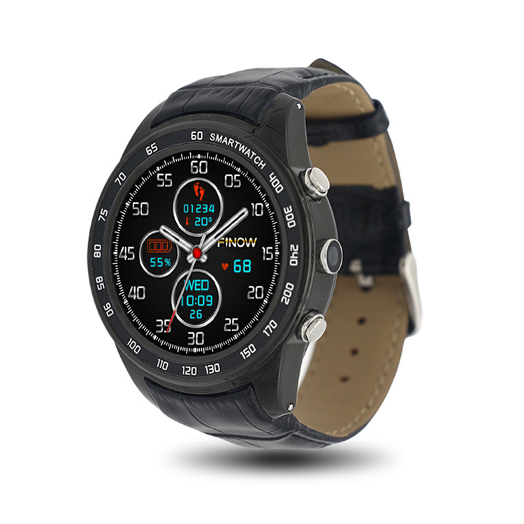 2017 New Finow Q7 Smart Watch <strong>Android</strong> 5.1 MTK6572 3G 400mAH Wifi Bluetooth With Camera SIM / TF Card For <strong>Android</strong> <strong>Phone</strong>