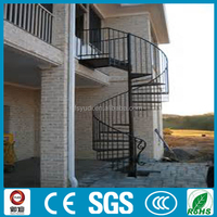 Structural Standard Outdoor Steel Stairs