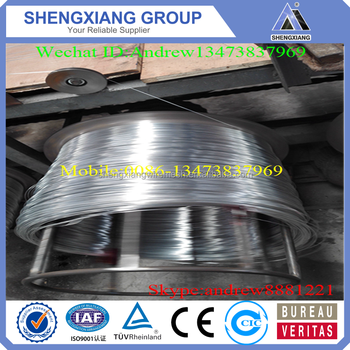 Soft Quality Galvanized Iron Wire Shining Colour with ISO9001;ISO14001(Factory Price)