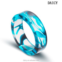 DAICY cheap wholesale fashion pattern vampire rubber wedding ring