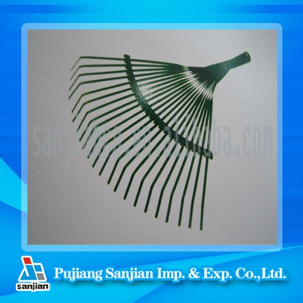 wide popular steel wire garden rake head