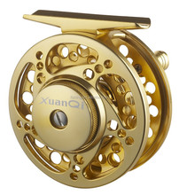 CNC saltwater Gold color fly fishing reel