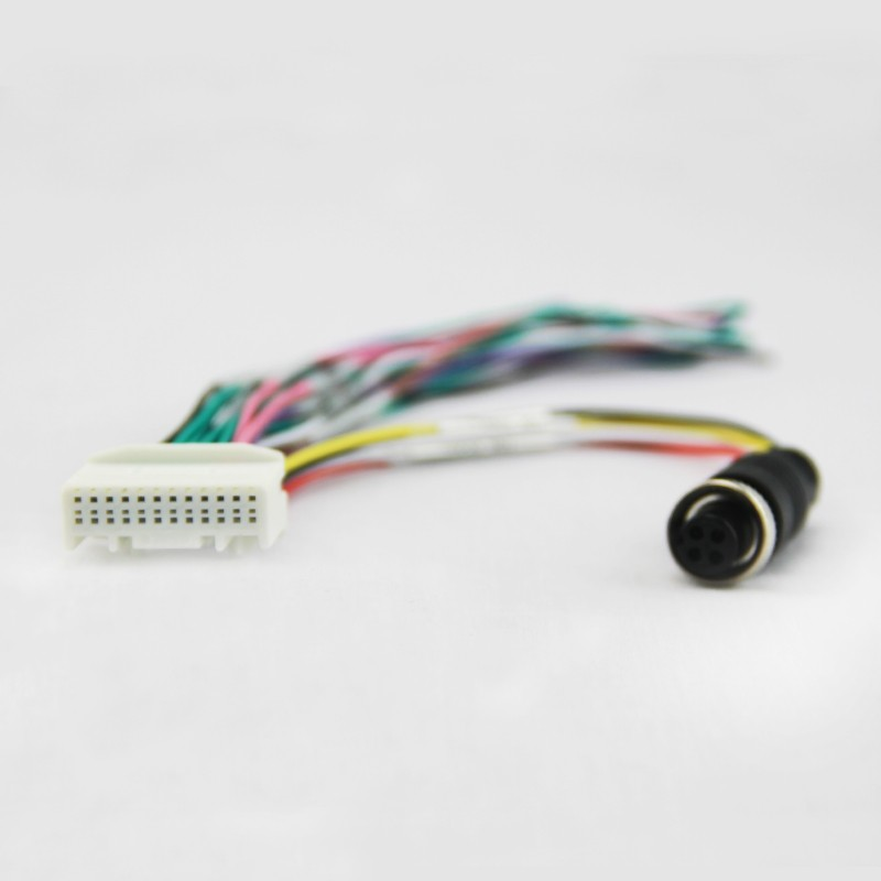 24P aviation plug wire harness