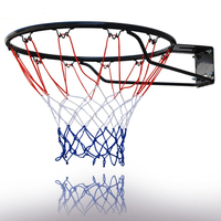 Basketball Hoop Breakaway Rim With Net And Mounting Hardware