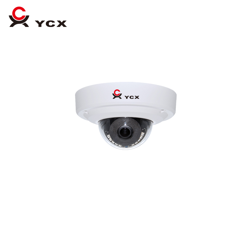 Onvif Free P2P Mobile Viewing H.265 4MP 5MP Vandalproof Mini Dome IP Camera POE Audio Motion detection CCTV WDR