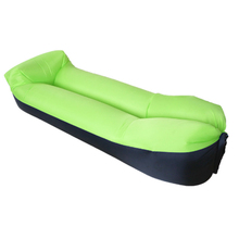 Wholesale Square Banana Inflatable Lounger, Portable Air Beds Sleeping Sofa Couch For Travelling, Camping, Beach, Park,