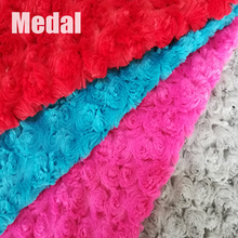 Popular high quality brush pv plush fabric faux fur blanket for sale