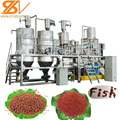 Automatic Miniature fish feed extruder machinery plant production line