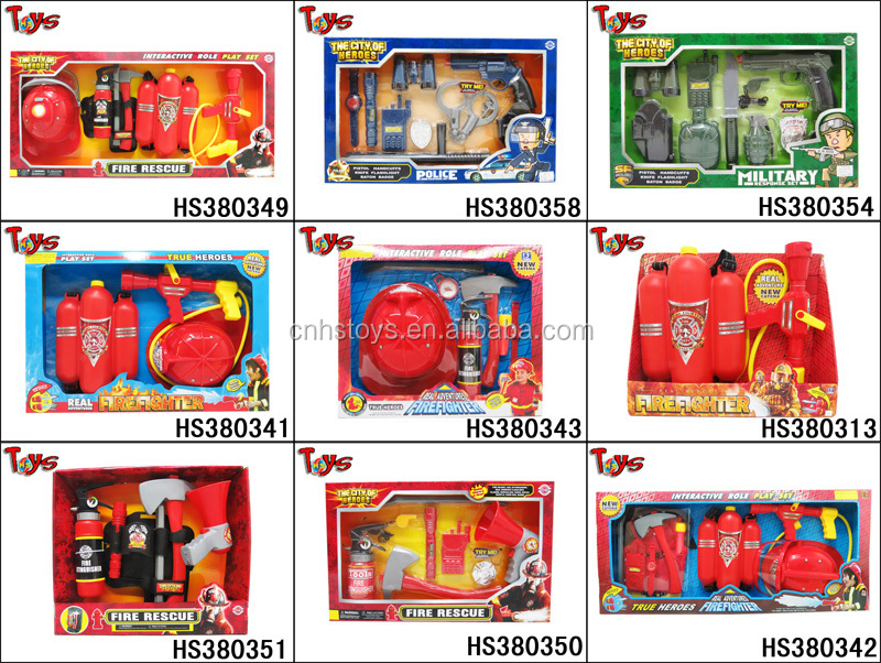 very popular interesting fire toy firefighter clothing