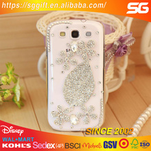 custom stone crystal diamond mobile phone case shell sticker
