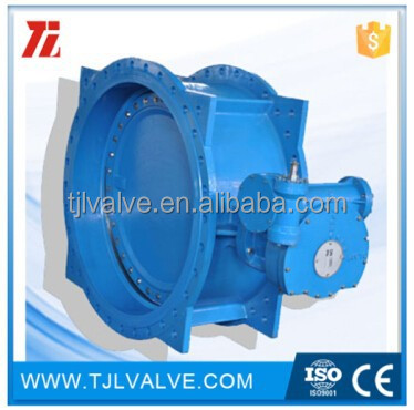 double eccentric flange di/wcb/ss worm gear actuated butterfly valve (Well sell)