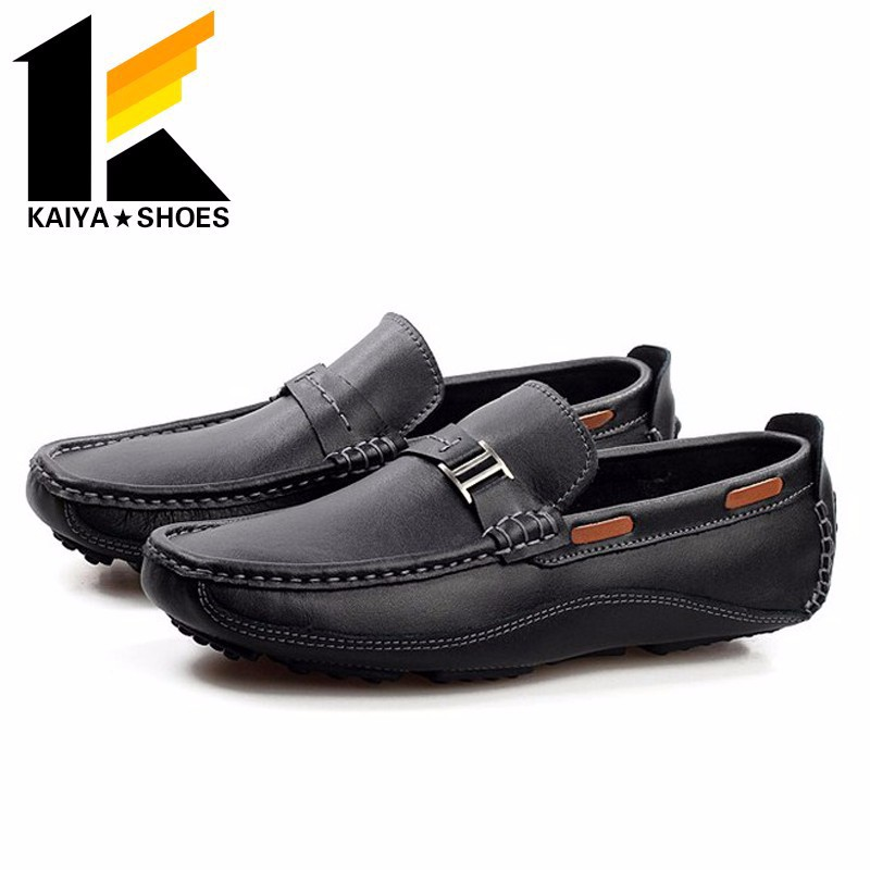 men's youth fashion low casual loafers