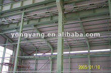 Steel Structure Galvanized prefabricated Large Span Steel Structure Warehouse