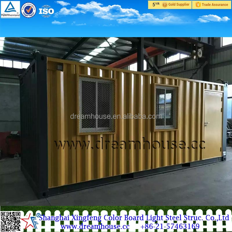 20ft mobile sea container workshop/ 40ft modified shipping container office